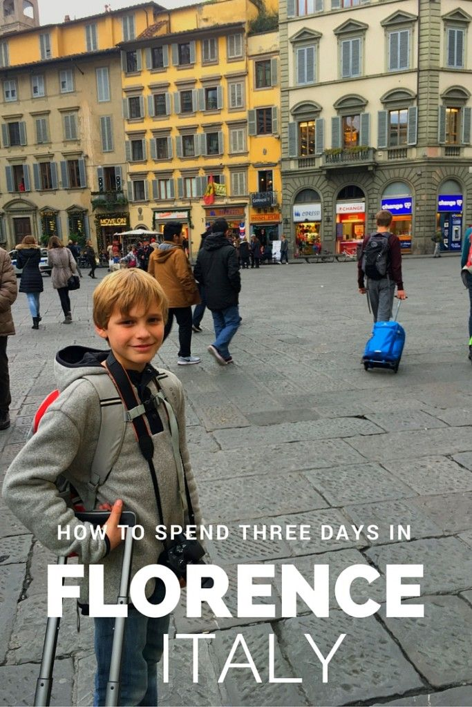 Three days in Florence with kids - Pitstops for Kids