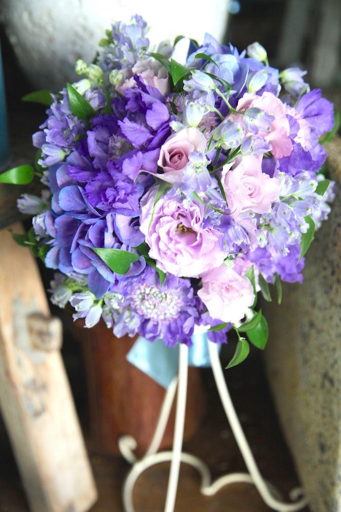 あじさい/バラ/ブーケ/花どうらく/ブーケ/http://www.hanadouraku.com/bouquet/wedding/