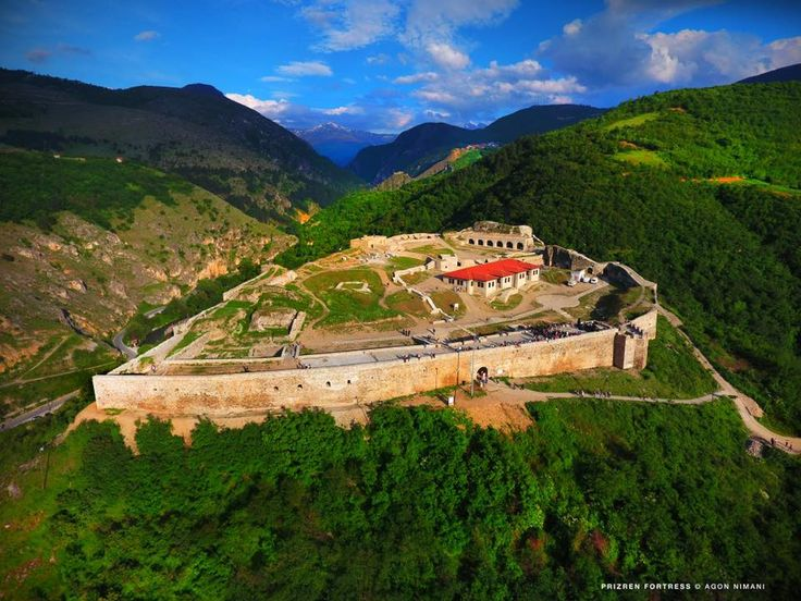 The beautiful Fortress of Prizren #visitkosovo — at Kalaja e Prizrenit.
