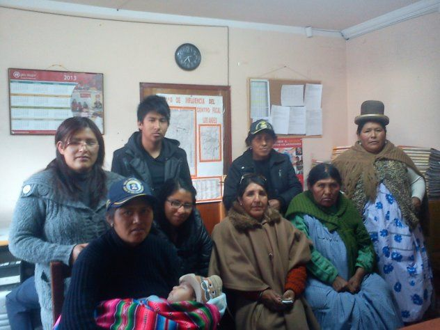 Help to buy pots and pans! Union Progreso Y Trabajo Group from Bolivia.