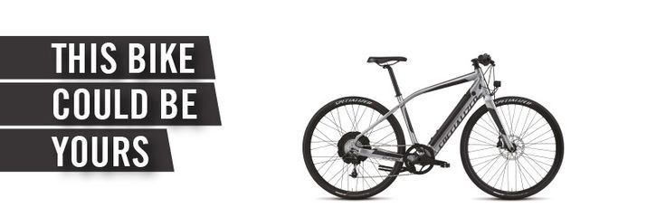 I just entered to win a Specialized Turbo e-bike, tricked out with the latest gear and accessories—a $5,000 value.  Join the PeopleForBikes movement for FREE!