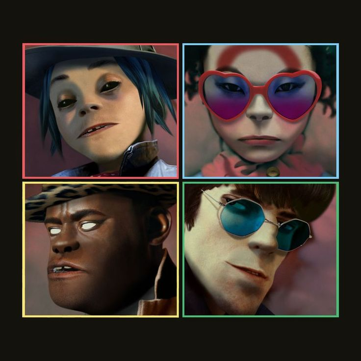 Busted and Blue by Gorillaz - Humanz (Deluxe)