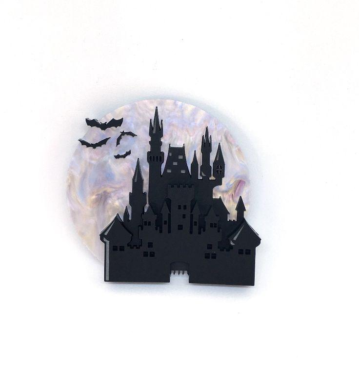 Dark Castle Brooch