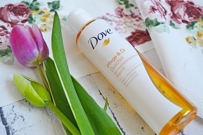 Dove - Dusche mit Arganöl.