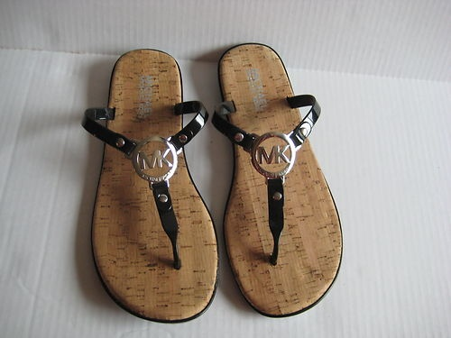 Michael Kors Charm Jelly flip Flops.   So comfy I love them!