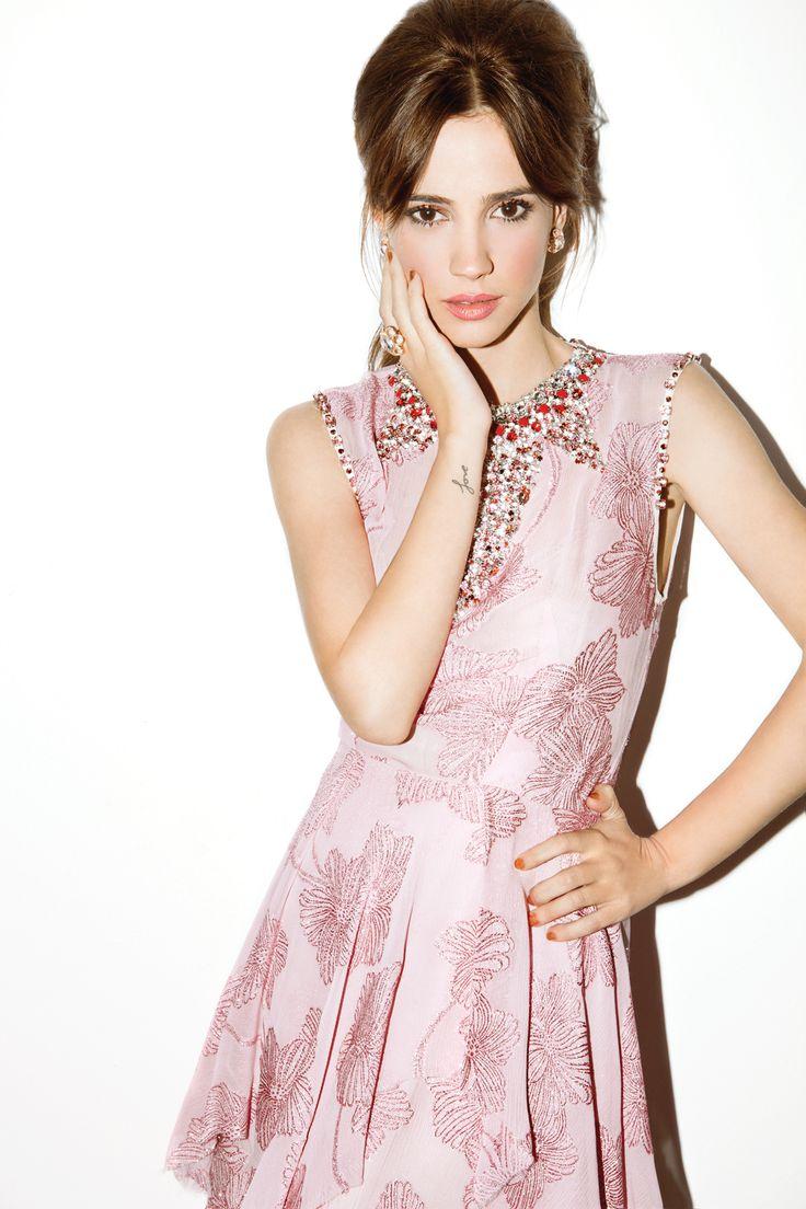 Celeste Cid para Harper's Bazaar Argentina. Junio 2012. Foto: Nacho Ricci