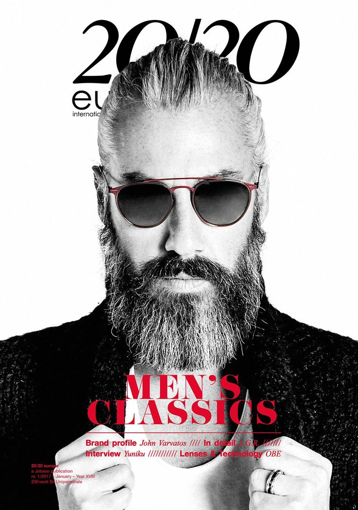 January 2017 issue Cover  Eyewear // MODO  Photographer // Andrea Biondi  Style // Manuela Mezzetti  Hair and Make up // Alessio Giovannelli Model // Alexandre Schuster