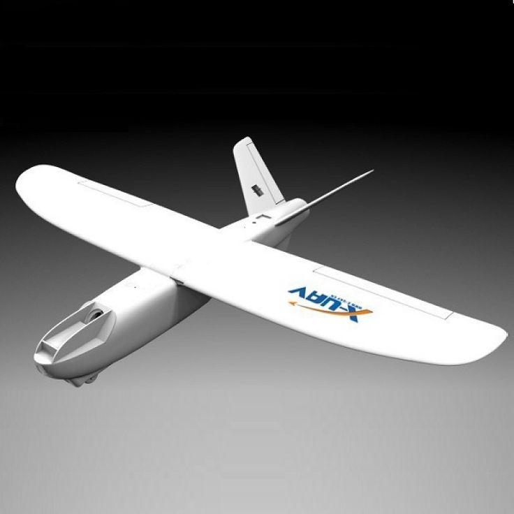 X-UAV Mini Talon EPO 1300mm Wingspan V-tail FPV Plane Aircraft Kit White