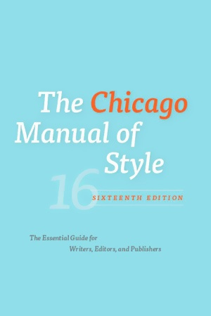 chicago manual of style business writing