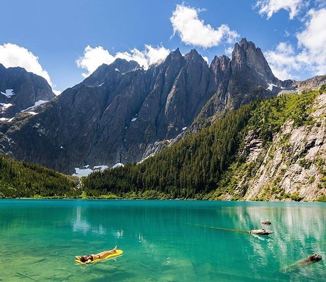 STRATHCONA Provincial Park, British Columbia, Canada.