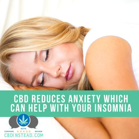 CBD can help you sleep by reducing your anxiety. Check out this article to find out how to do it right! #CBDoil #Sleep #Anxiety