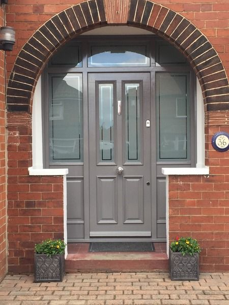 Am I mad to think of buying salvage front door? | Mumsnet Discussion & Best 25+ Upvc porches ideas only on Pinterest | Glass porch Front ... Pezcame.Com