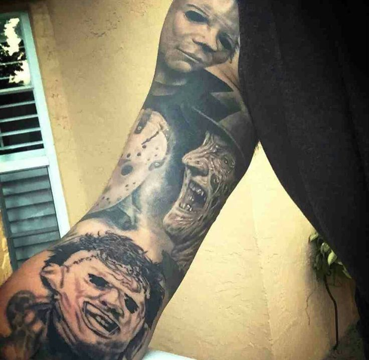 another horror sleeve/portrait sleeve for placement ideas ...