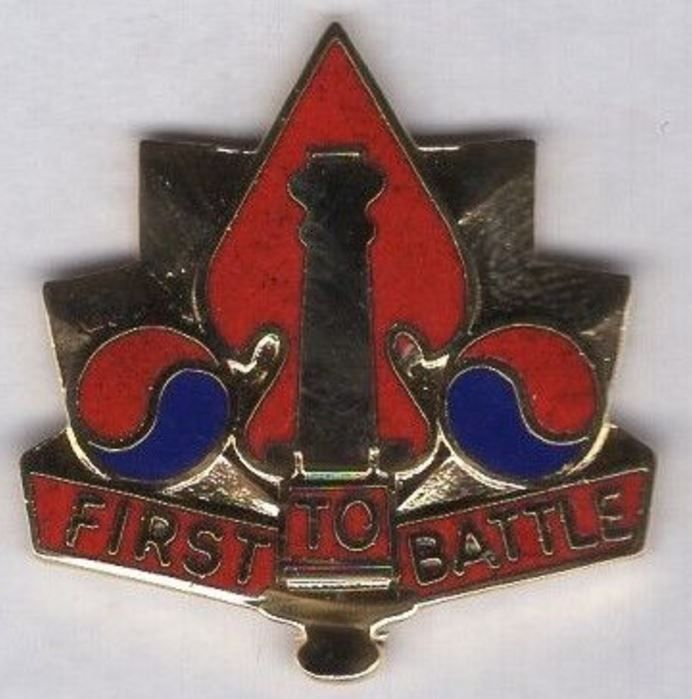 5th Artillery Group crest