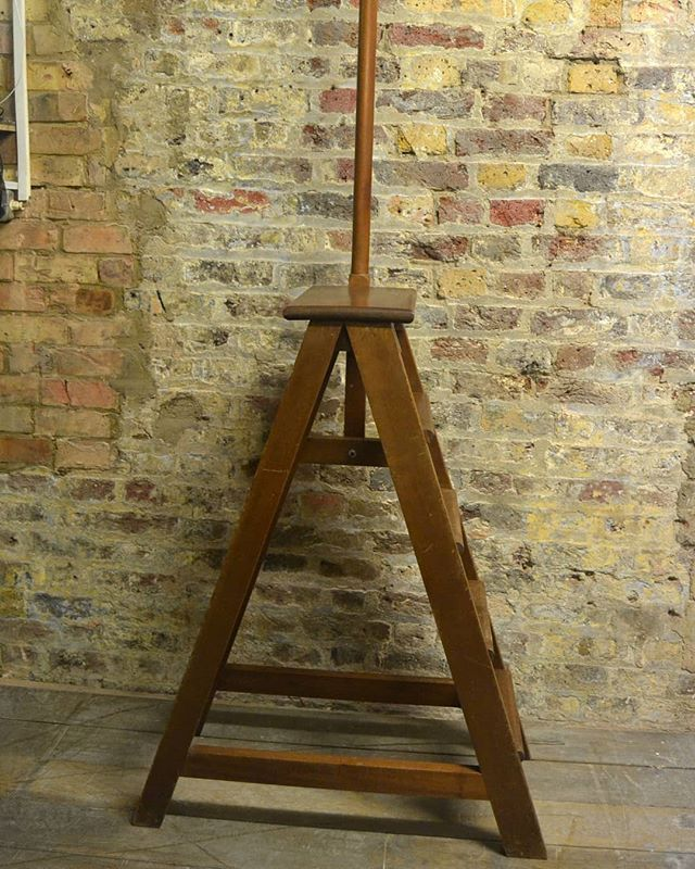 Antique Library Step Ladder At D And A Binder We Have A Range Of Antiques At Binder S This Is A Gorgeou Step Ladders Antique Display Cabinets Antique Ladder