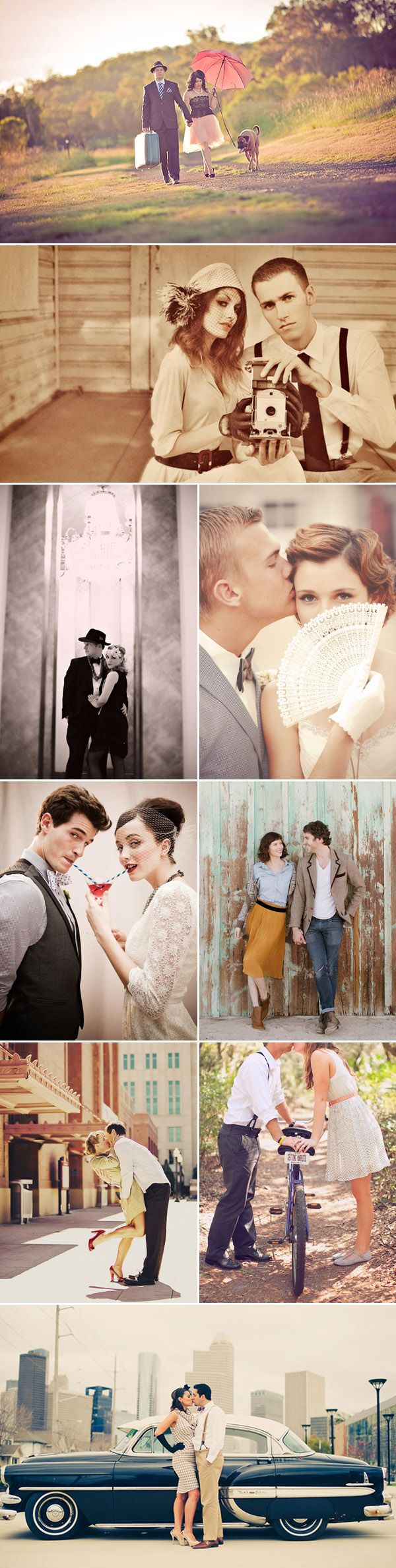 vintage inspired wedding photo ideas