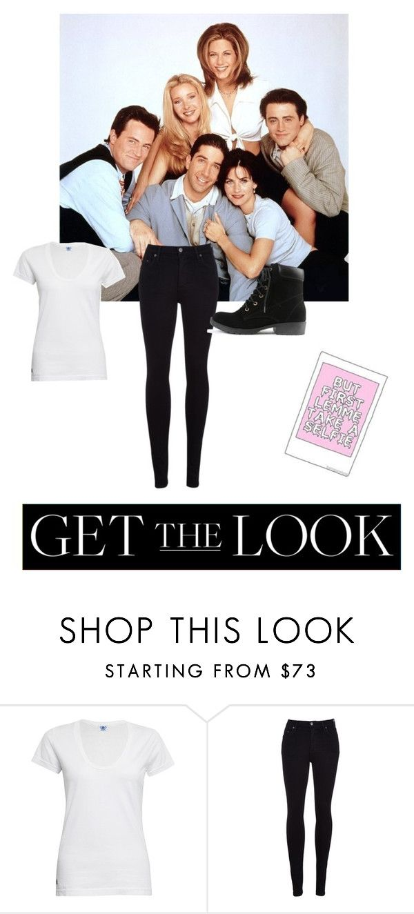 """""""Courtney Cox Arquette (Monica Geller)- Get the Look"""" by xkidinthedarkx ❤ liked on Polyvore featuring F and Citizens of Humanity"""