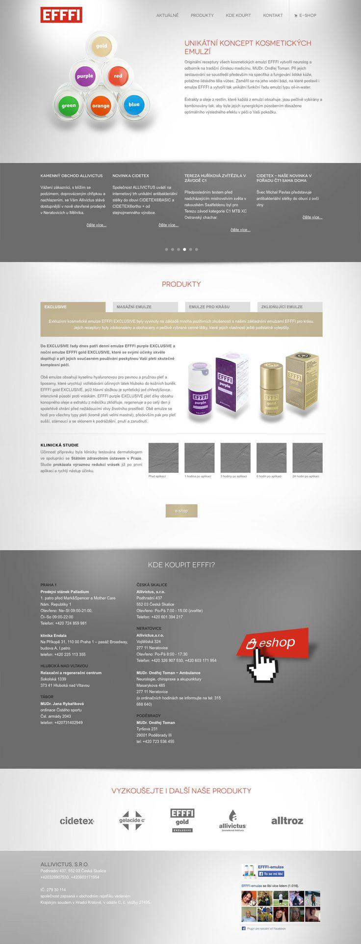 www.efffi.cz #webdesign #eshop #efffi