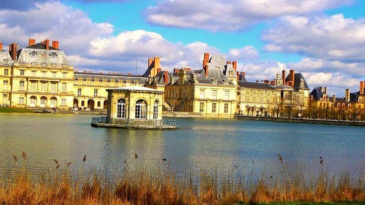 Дворец Фонтенбло резиденция королей Франции
