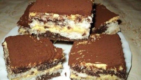 Pandamaci szelet – Nagyon finom lett a süti, biztos, hogy nem utoljára készítettem