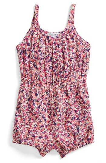 Splendid Floral Romper (Baby Girls) available at #Nordstrom