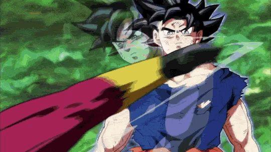Ultra Instinct Goku vs Kefla.