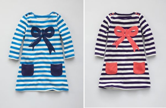 Boden Girls cute stripe tunic top / dress: Floor Girls, Stripe Tunic, Dress, Tunic Tops