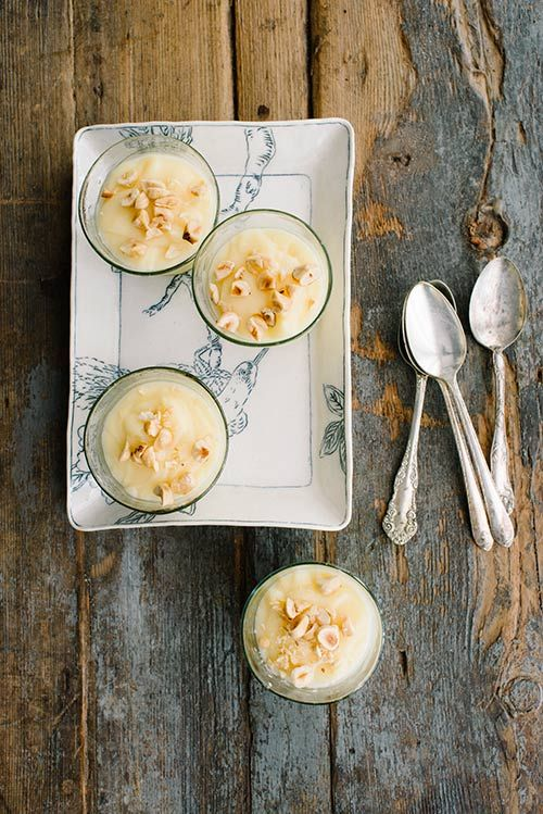 Vanilla Rosemary Pudding