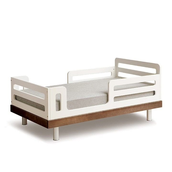 The Classic Toddler Bed represents a milestone in your child's development, from baby to toddler. As a scaled-down bed with a low mattress position, your child's sense of new-found independence is reinforced by their ability to climb in and out on their own.    This item is GREENGUARD Gold certified.