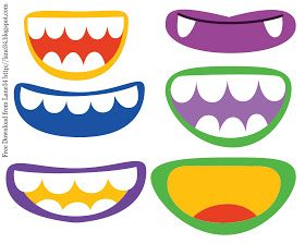 mouth template for preschool - pinterest the world s catalog of ideas