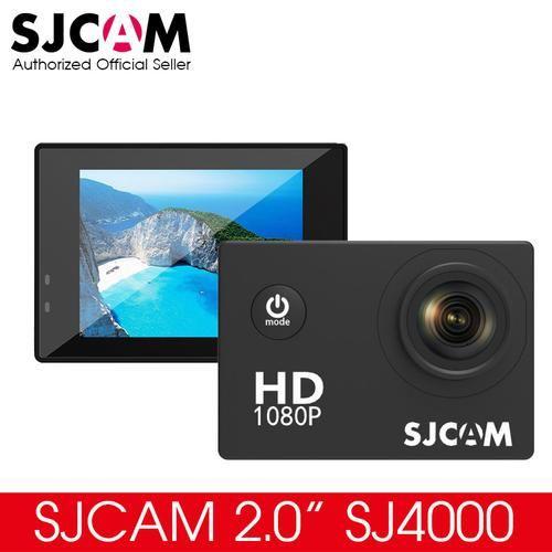 "[Extra Battery + Charger] New Original SJCAM 2.0"" SJ4000 Basic Action Camera Waterproof 1080P Helmet Camera HD Sport DV - SaveMajor.com"