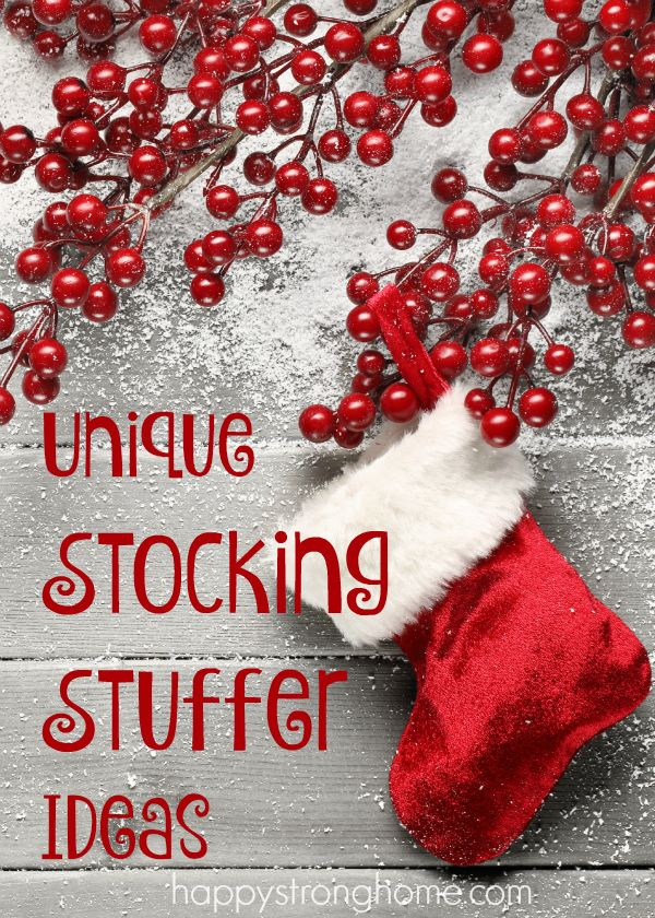 Unique Stocking Stuffer Ideas Trees Stockings And The O