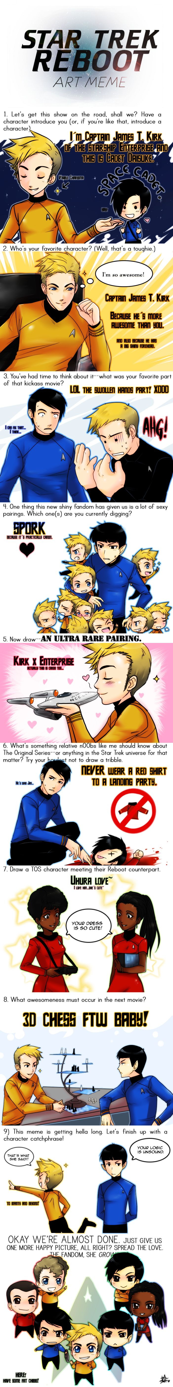 Star Trek Reboot Meme by Go-Devil-Daisuke.deviantart.com on @deviantART