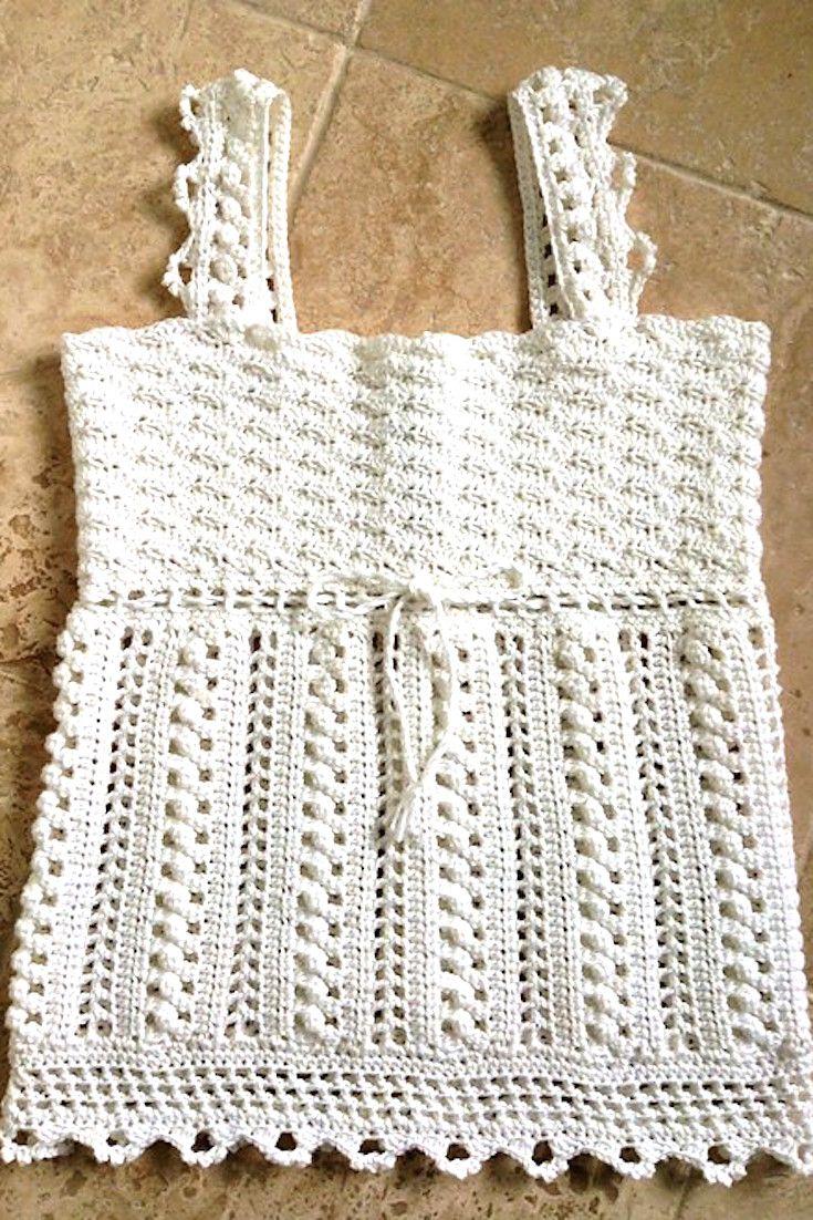 700 best Crochet Tops images on Pinterest   Beach kaftan, Bedspreads ...