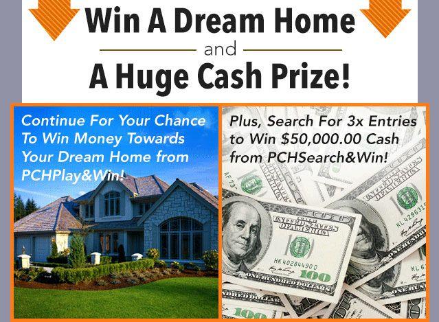 PCH $3 Million Dream Home Sweepstakes | 3million dream home winner