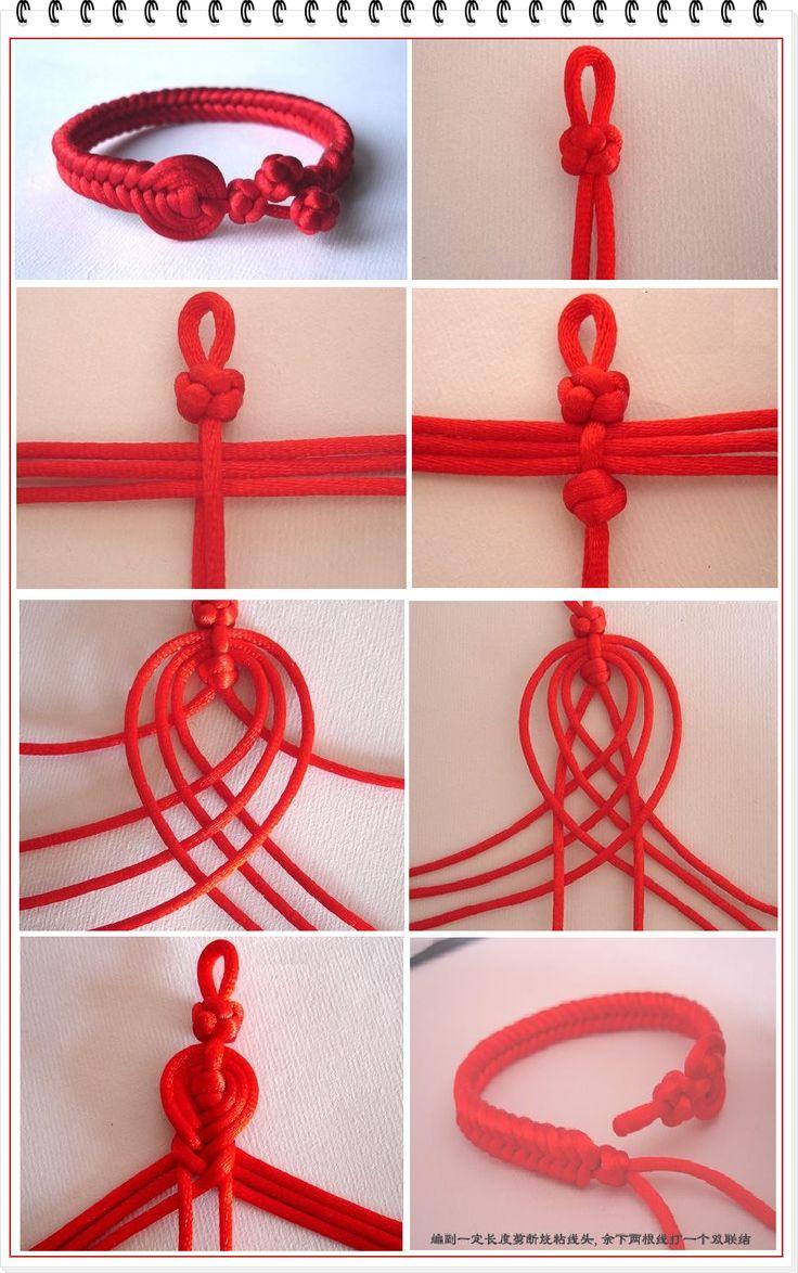 M s de 25 ideas incre bles sobre pulsera roja en pinterest - Trabajar desde casa haciendo manualidades ...