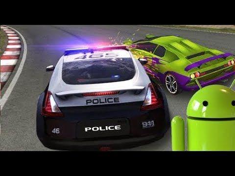 Videos y JuegoS ParA Niños, juego de carros policia contra autos infract...