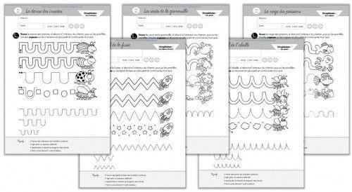 Je viens de finir un petit fichier sur les graphismes importants appris en Moyenne Section (et revus en Grande Section) ; J'ai compilé ces fiches qui seront utilisées en toute fin d'apprentissage de chaque graphisme, afin d'en évaluer leur maîtrise. Elles proviennent d'un petit manuel espagnol, Grafimania, que l'on peut trouver sur Picasa. Je suis …