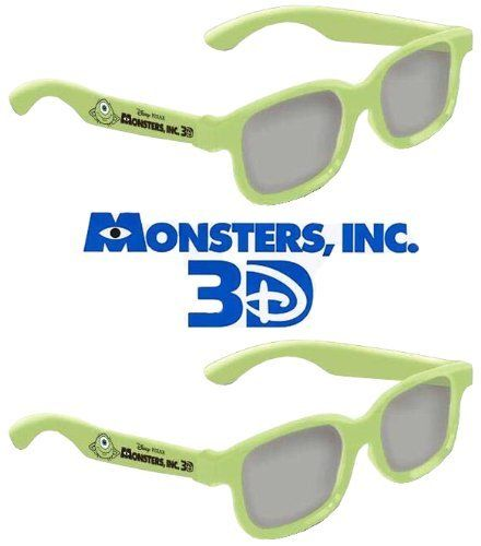 Monsters Inc. Kid Size Genuine Sealed RealD Circular Polarized 3D Glasses for RealD Theaters and Passive 3D TV's from Vizio, Toshiba, LG, Philips and JVC - 2 Pairs by RealD. $4.95. Monsters Inc. Kid Size RealD 3D Glasses are for use with any passive 3D television such as JVC, Vizio, LG, Toshiba, and many other manufacturers. These glasses will perform flawlessly with any passive 3D ready television and in any RealD or Disney Digital Theater, so you can take your own 3...