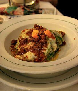 Food Italian Blog: Lasagne Verdi