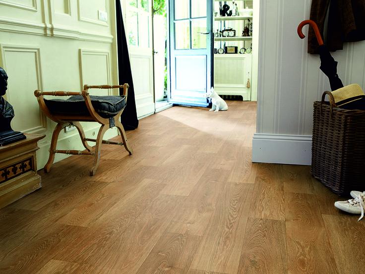 Vinyl Flooring | Godfrey Hirst | Get the look with NeuTX Warm Oak. #vinylflooring #vinyl #floors #godfreyhirst #timberlook