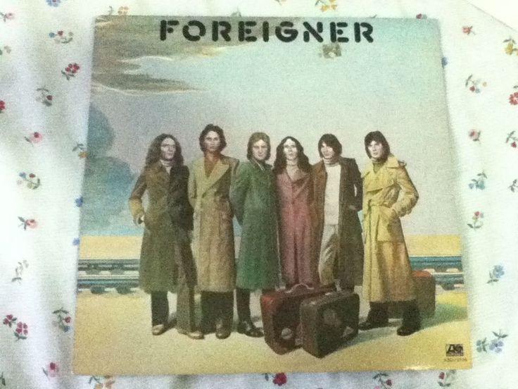Foreigner - self-titled 1977 Atlantic Records - Lou Gramm - Vintage Vinyl Record