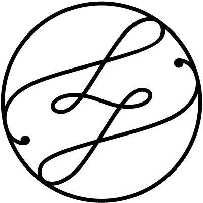 LJ Monogram for Lena & Jonty.  interlocked L & J.© ziska thalhammer