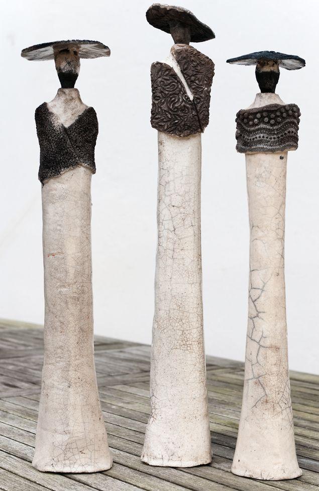 Sculpture - Marie Juge - Sculpteur raku - Sculptures