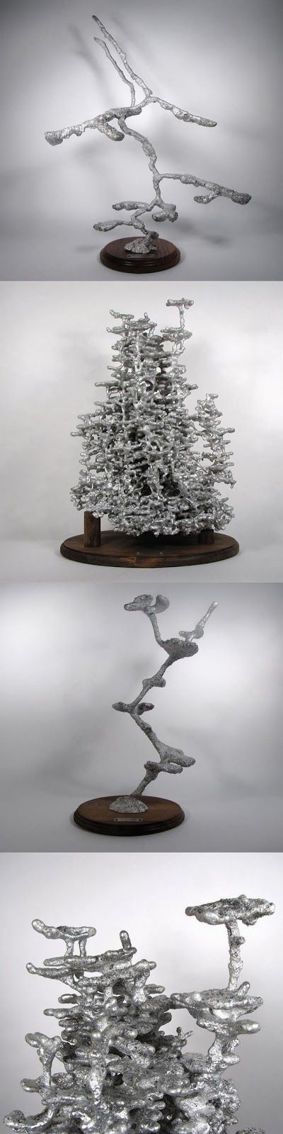 Aluminium Ant Colony Casts - Educational and beautiful!