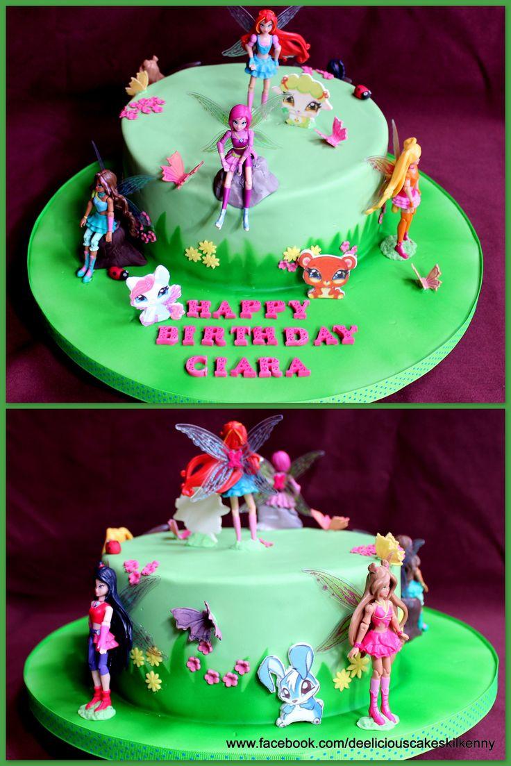 Winx cake - www.facebook.com/deeliciouscakeskilkenny