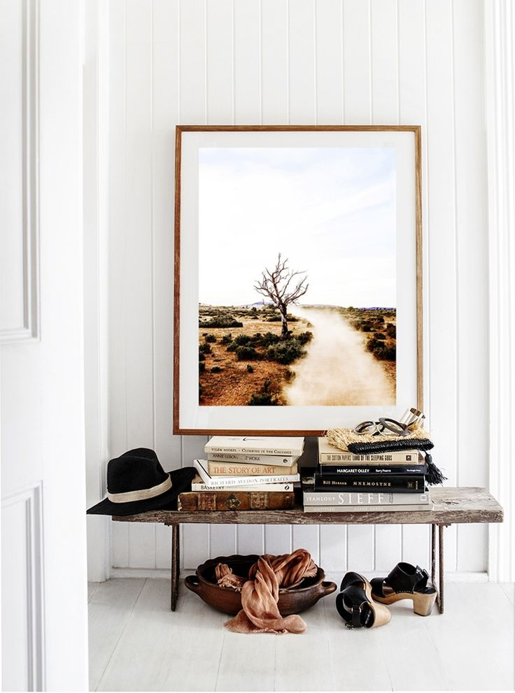 Aimee: Like outback imagery (Nick has heaps of photos to look through), general lifestyle small touches to add: books, sun hat for garden,