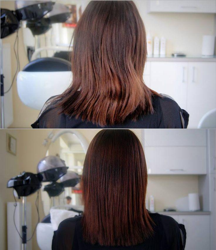 Prostowanie keratynowe. #włosy #hair #prostowanie