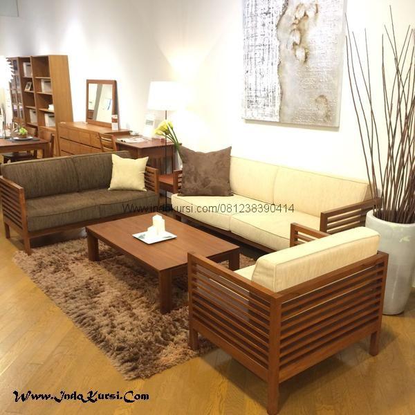 Set Kursi Tamu Box Murah Minimalis Jari Jari Merupakan Desain Baru Furniture Kursi Tamu Minimalis Indo Kursi Mebel Jepara dengan model jari jari jok Bantalan