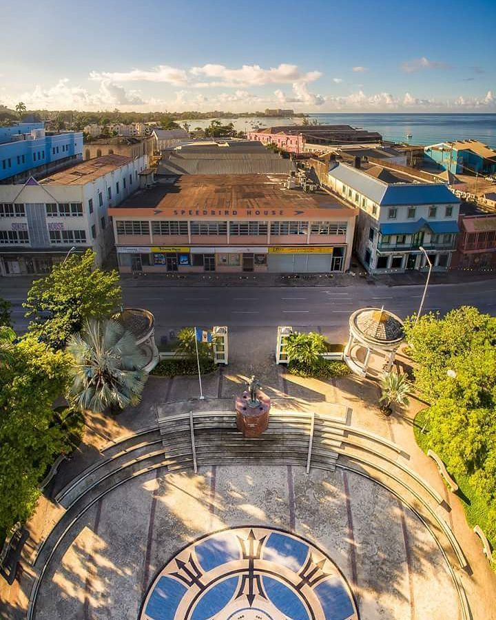Fantastic shot of Independence Square in Bridgetown, Barbados, just in time for our Independence celebrations on Nov 30th